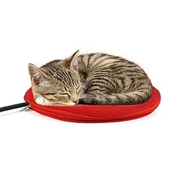 0 ℃ Outdoor Ronda Mascotas cojín de calefacción, Calentador eléctrico del Gato del Perro Estera
