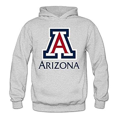 XJBD Women's University Of Arizona Handsome Hoodies Ash