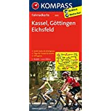 Kassel - Göttingen - Eichsfeld: Fahrradkarte. GPS-genau. 1:70000 (KOMPASS-Fahrradkarten Deutschland, Band 3065)
