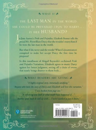 Mr fitzwilliam darcy the last man in the world a pride and mr fitzwilliam darcy the last man in the world a pride and prejudice variation abigail reynolds 0760789226991 amazon books fandeluxe Gallery