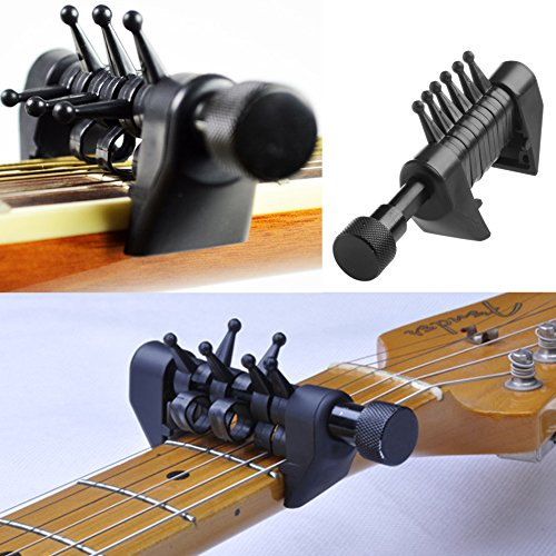 ULKEME Multifunction Capo Open Tuning Spider Chords For Acoustic Guitar Strings by ULKEME
