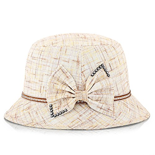 M (5658cm) Women's Adjustable Beach Floppy Sun Hat
