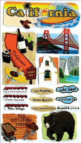 Jolee's Boutique California Stickers ()