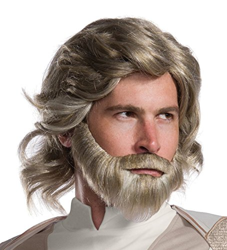 Rubie's Star Wars Episode VIII: The Last Jedi Men's Luke Skywalker Costume Accessory Kit  NA  One Size -