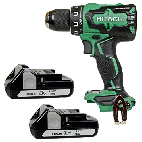 Hitachi DS18DBFL2 18V Brushless Drill Driver & (2) BSL1815X 18V Batteries