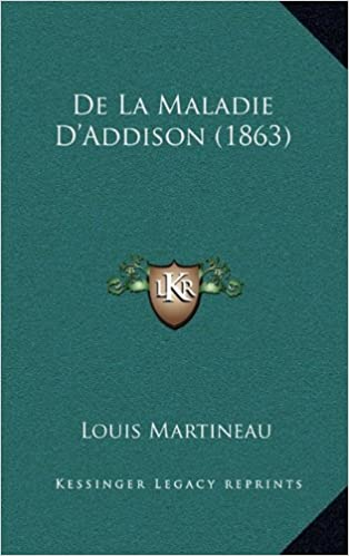 Amazon.fr - de la Maladie d'Addison (1863) - Louis Martineau - Livres