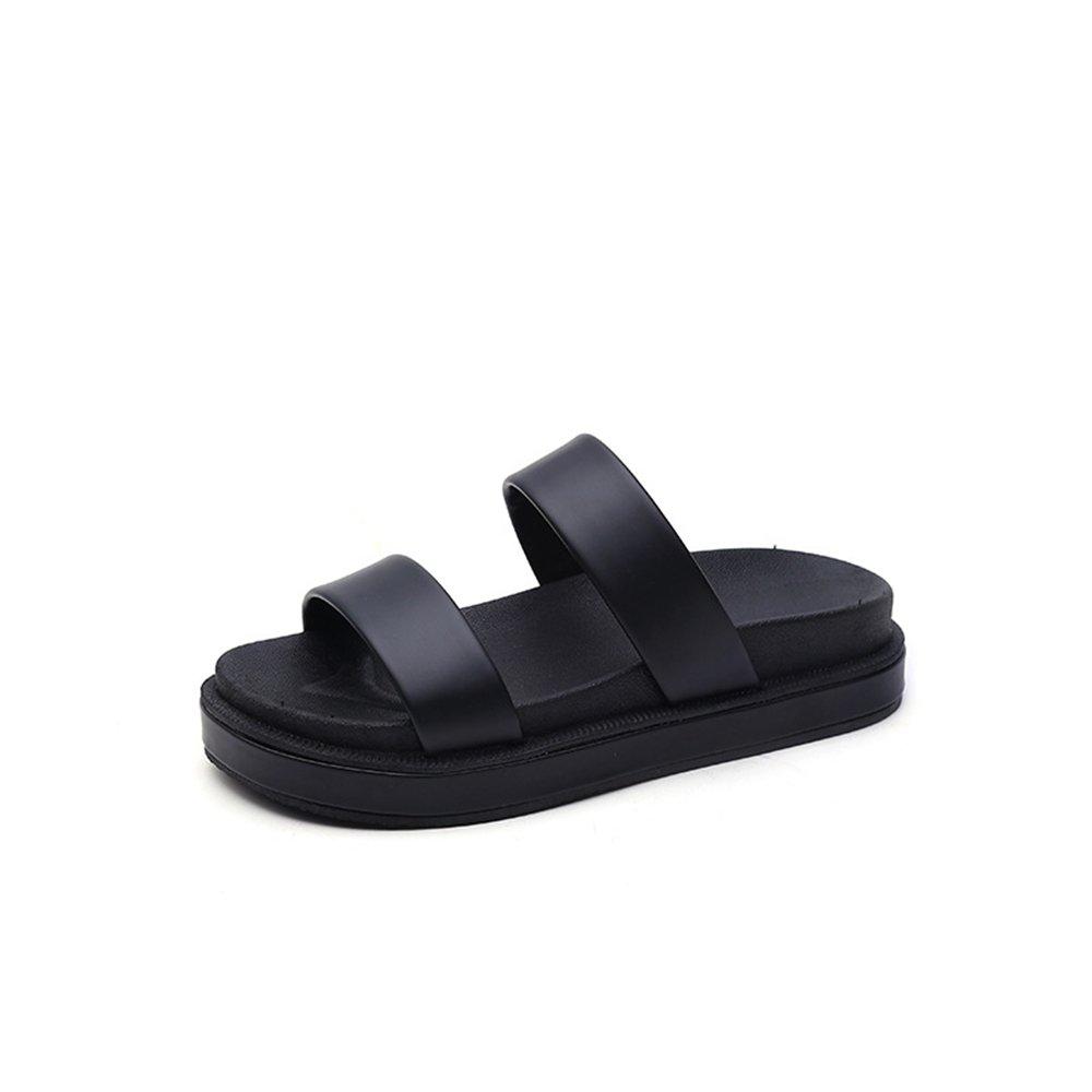 Dolwins 2018 New Wedge Platform Slide Sandals Summer Sandals