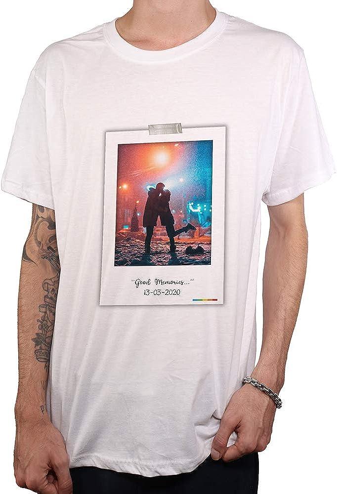 Promo shop Camiseta Personalizada Hombre /• Estas Camisetas Personalizas /¡Se Imprimen Directamente sobre el Tejido! DTG Imagen y Texto /• Manga Corta//Talla S /• 100/% Algod/ón /• Impresi/ón Directa