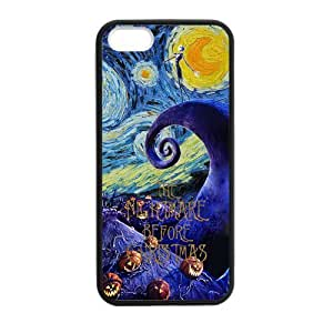 Nightmare Before Christmas Scratch-Resistant Protective Hard Cover for iPhone 5 5S