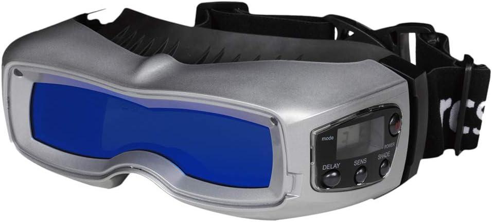 Silber SERVORE Arcshield-2 Visor Automatik-Schwei/ßbrille mit HF-Sensor DIN 5-13