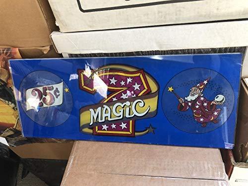 Magic 7 Casino Glass Slot Machine Vintage Circa 1980 Seven