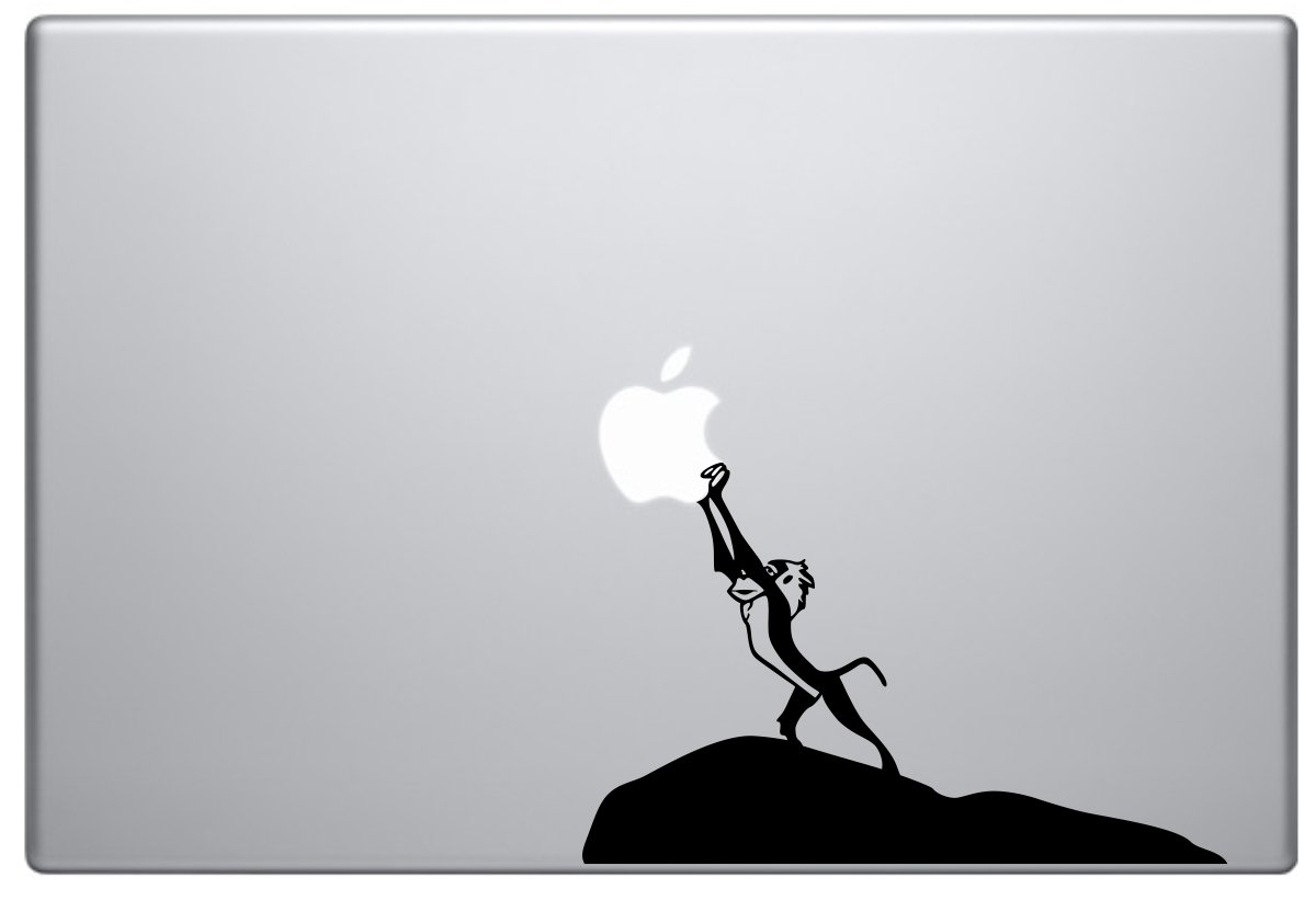 Amazon com rafiki lion king macbook pro vinyl decal computers accessories