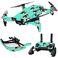 MightySkins Skin for DJI Mavic Air Drone - Cool Corgi   Max Combo Protective, Durable, and Unique Vinyl Decal wrap cover   Easy To Apply, Remove, and Change Styles   Made in the USA