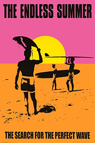Endless Summer - Classic - 24x36 - Art Print Collections Poster Print, 24x36