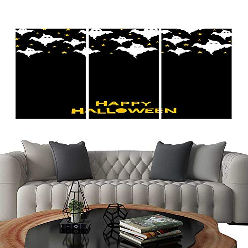 UHOO Prints Wall Art PaintingsHappy Halloween Card Template 4. Customizable Wall Stickers 12