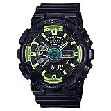 G-Shock GA110LY-1A Sporty Illumi Series Watches - Black / 1 Size