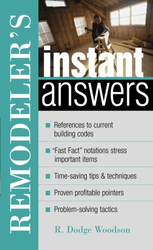 Download Remodeler's Instant Answers pdf epub