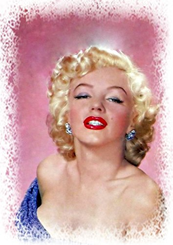 Super Mouse Pad Hot (Marilyn Monroe Hot Lips Super Star Beauty Art on Mouse Pad Mousepad Computer Desktop Supplies)