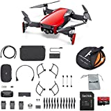 DJI Mavic Air Fly More Combo (Flame Red) Portable Quadcopter Drone Bundle with Additional Memory Card and More