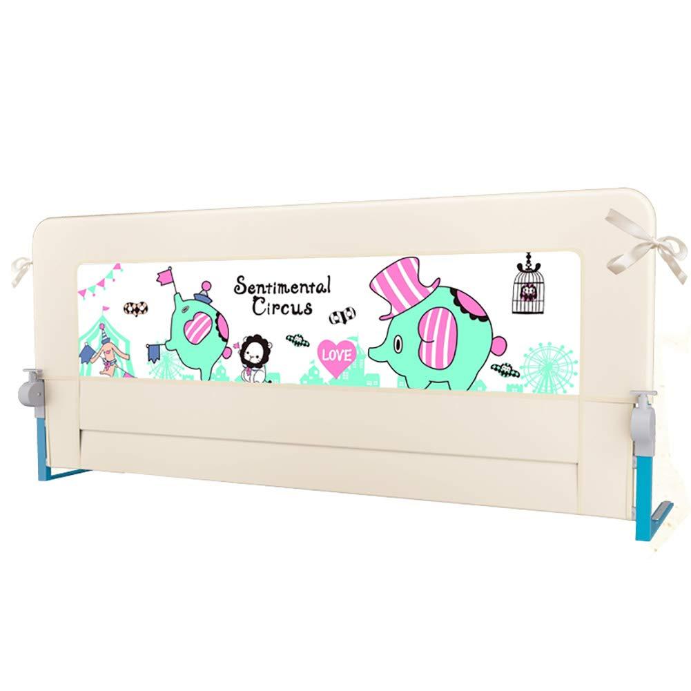 ベッドフェンス 幼児用赤ちゃんと子供用のベッドレール、ポータブルと安定したベッドガードベビーセーフティベッドレール72センチメートル高い (サイズ さいず : Length 180cm) Length 180cm  B07JPBKZ8K