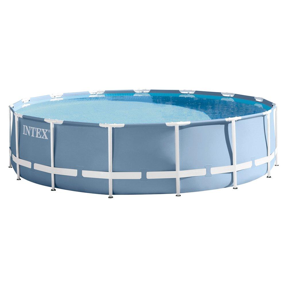 Intex AGP Zubehör Pool Prisma Frame mit Filterpumpe, Leiter ...