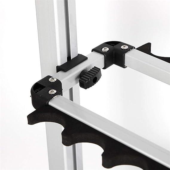 32.5 72cm YIYIBY Rutenst/änder Angelruten Ausstellungsstand 24Angelruten Halten Aluminiumlegierung 72