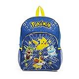 Pokemon X Y Chespin Fennekin Froakie Kid 16' Glowing Light Up Front Backpack Bag