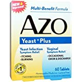 AZO YEAST TAB 60TB AMERIFIT NUTRITION - Buy Packs and SAVE (Pack of 2)