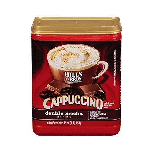 (Hills Brothers Double Mocha Cappuccino Drink Mix (2 Pack) 16)
