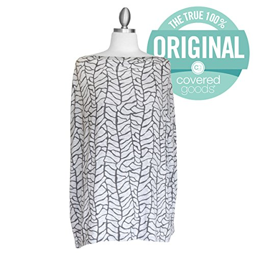 Covered Goods - The Original Multi Use Maternity Breastfeeding Nursing Cover, Infinity Scarf, and Car Seat Cover - Roots by Covered Goods (Image #5)