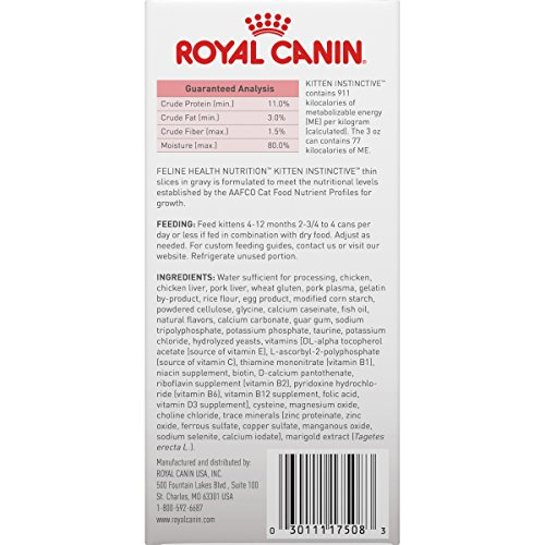 Royal Canin Feline Health Nutrition Kitten Canned Cat Food, 3 Ounce Cans 11