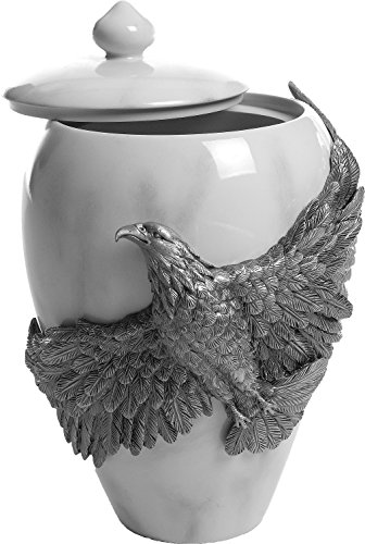 AngelStar Eagle's Flight Pewter Urn, 8-1/2