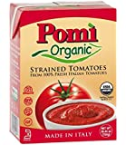 Pomi Organic Strained Tomatoes 26.46 oz. (Pack of 2)
