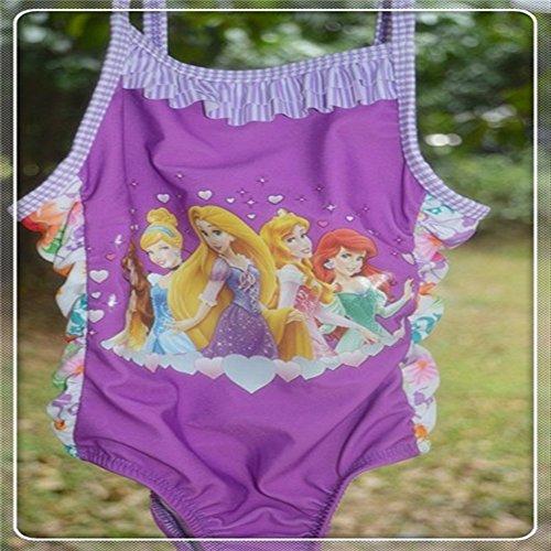 Supremaimer one piece swimsuit Disney princess (SIZE:4T)