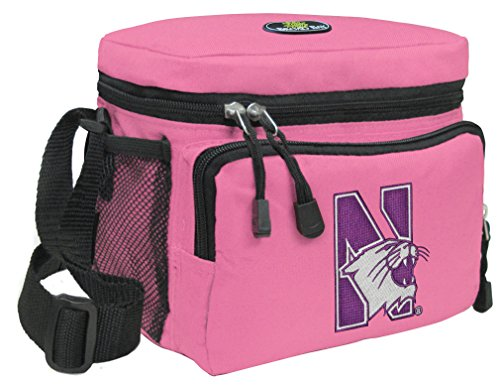 Broad Bay Northwestern University Lunch Bag Womens & Girls Northwestern Wildcats Lunchboxes (Wildcats Northwestern Lunch)