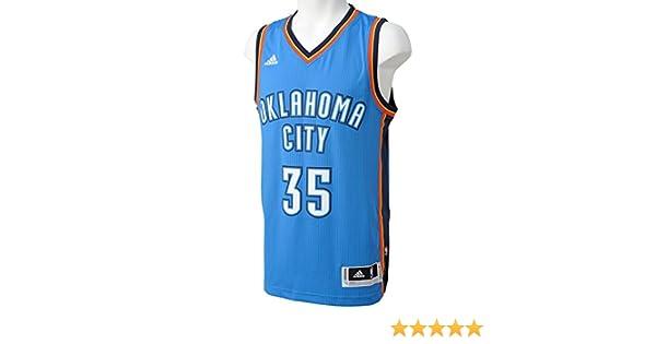 adidas Basketball Oklahoma City Thunder Swingman Trikot Camiseta ...