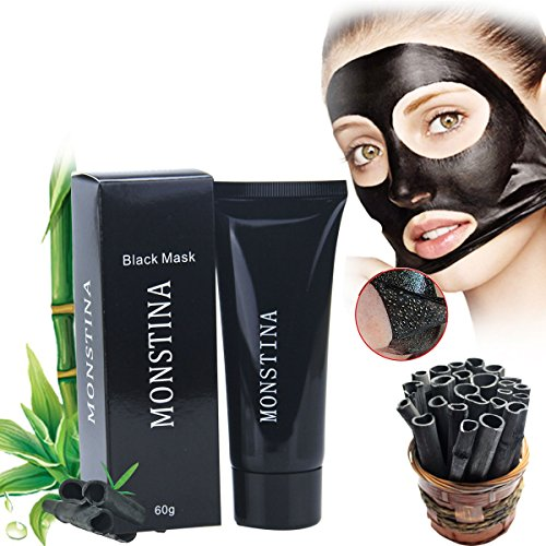 OR Pure Black Mask,Blackhead Remover Mask,Bamboo Charcoal Peel-off Mask ,Purifying Mask Beauty Mask Black Mud Pore Removal Strip Mask to Deep Cleansing, Acne Treatment Oil-Control (Peel-off mask) Pure Peel Off Mask