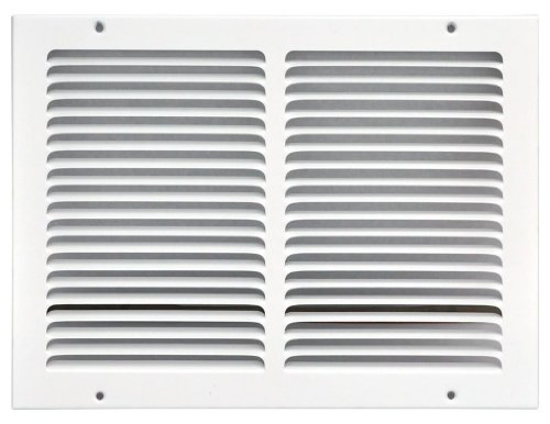 Speedi-Grille SG-1410 RAG 14-Inch by 10-Inch White Return Air Vent Grille with Fixed Blades ()