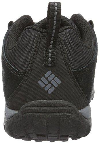 Columbia Youth Venture - Zapatillas de running Niños Negro (Black, Graphite)