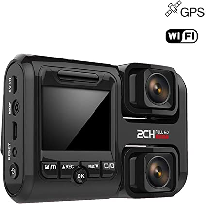 Panorama DVR Dashcam 1080p 360 ° auto aparcamiento cámara de vigilancia GPS G-Sensor