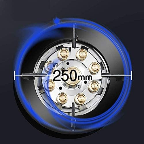 Timing Smart Gas Hob Benchtop Embarqué Cooker unique for cuisson Brûleur portable avec Flameout Protection (Taille: GPL) QIANGQIANG (Size : NG)