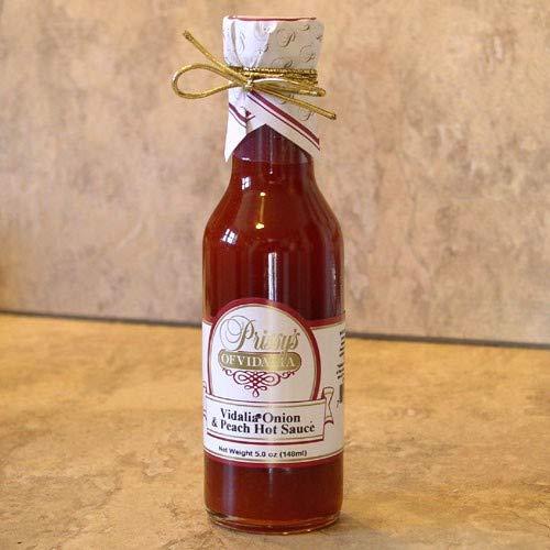 Vidalia Onion Peach Hot Sauce (5 ounce)