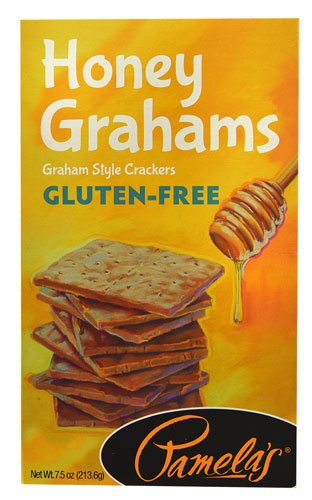 Pamela's Products Gluten-Free Graham Crackers Honey -- 7.5 oz (Pack of 12) by Pamela's Products