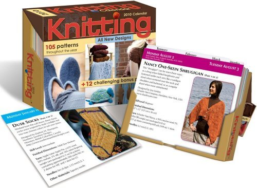 (Knitting Pattern-a-Day: 2010 Day-to-Day Calendar by Accord Publishing (2009-08-01) )