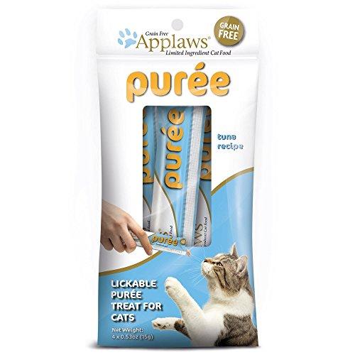 Applaws Tuna Puree Cat Treats, 4 Pack .53 oz