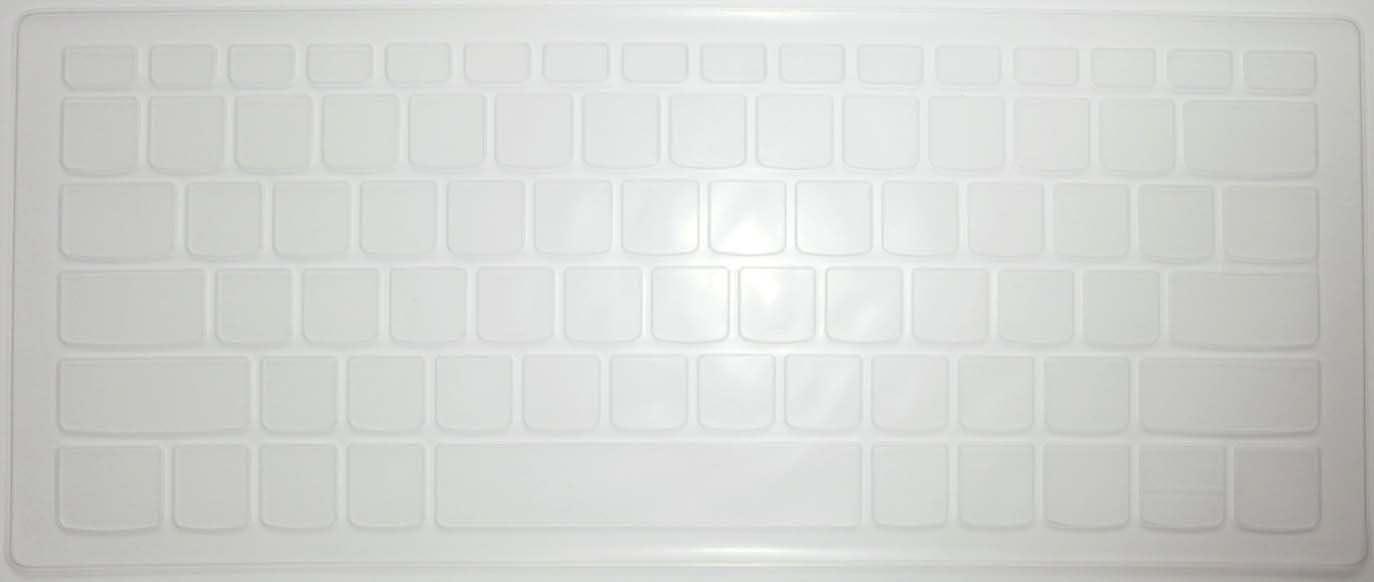 "BingoBuy US Layout Keyboard Protector Skin Cover for Lenovo Yoga 720-15IKB, 520s 14'', Flex 5 15'', 120s 14'', 320s 14'', 330 330s 14'', 530s 15"" (Clear)"