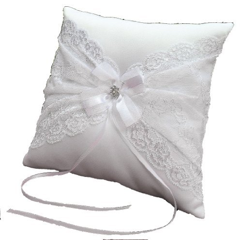 LadyMYP Romántico decorada Cojines para llevar alianzas con ...