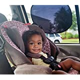 Baby Sun Shades 2 Pack - No Suction Cups - Car Windows Shade Blocks Harmful UV Rays - Easy To Attach, Easy To Store from BabyCarShade.com