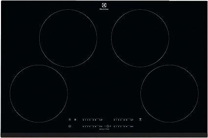 Electrolux Cit81443 Piano Cottura A Induzione 4 Zone Cottura Da 80 Cm Nero Amazon It Casa E Cucina