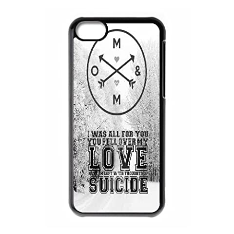 Personalized Of Mice & Men Iphone 5C Cover Case, Of Mice & Men DIY Phone Case for iPhone 5c at (Iphone 5c Cases Of Mice And Men)